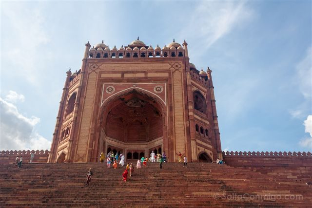 India Fatehpur Sikri Darwaza Buland