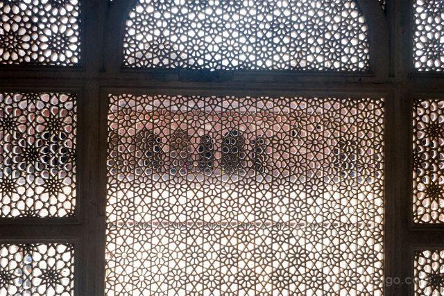 India Fatehpur Sikri Mezquita Jama Masjid Tumba Salim Chishti Celosia
