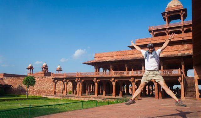 India Fatehpur Sikri Panch Mahal Salto