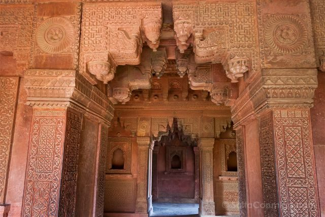 India Fatehpur Sikri Rumi Sultana