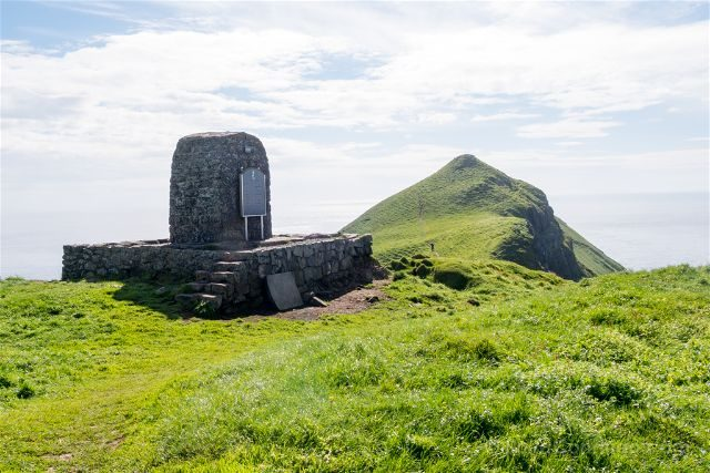 Islas Feroe Mykines Monumento