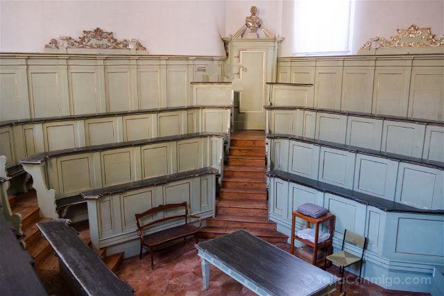 Italia Emilia-Romagna Ferrara Biblioteca Ariostea Teatro Anatomico