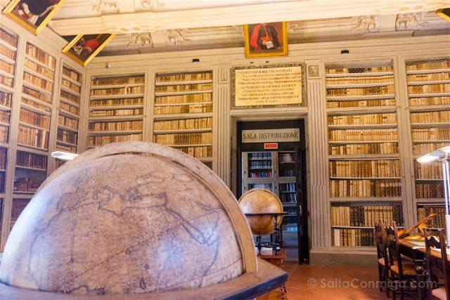 Italia Emilia-Romagna Ferrara Biblioteca Ariostea