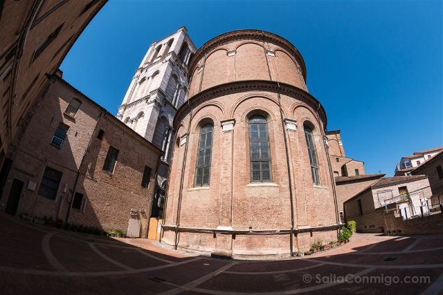 Italia Emilia-Romagna Ferrara Catedral Abside