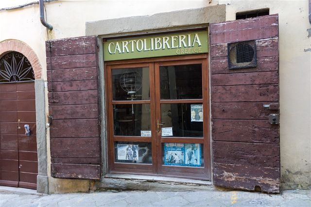 Italia Toscana Arezzo La Vida Es Bella Cartoleria Orefice