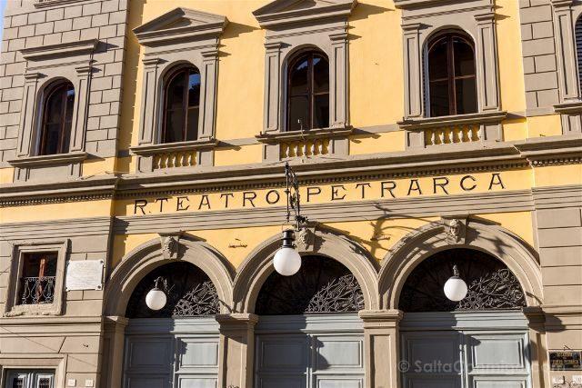 Italia Toscana Arezzo La Vida Es Bella Teatro Petrarca