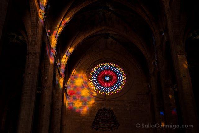 Mallorca Catedral de Palma Espectaculo del Ocho Antes