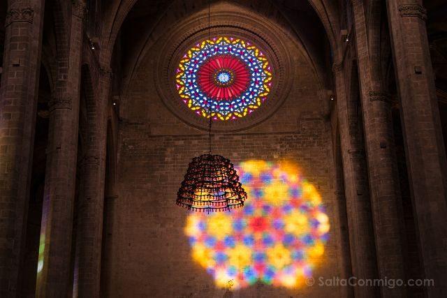 Mallorca Catedral de Palma Espectaculo del Ocho Despues