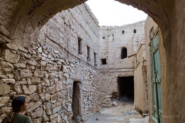 Oman Al Hamra Calles