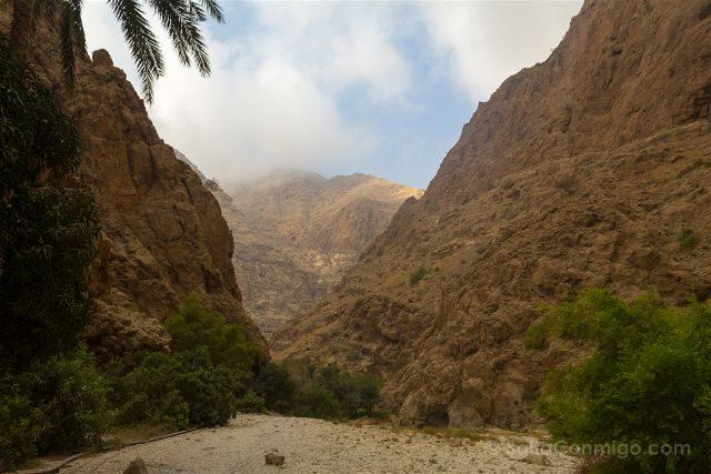 Oman Wadi Shab Comienzo