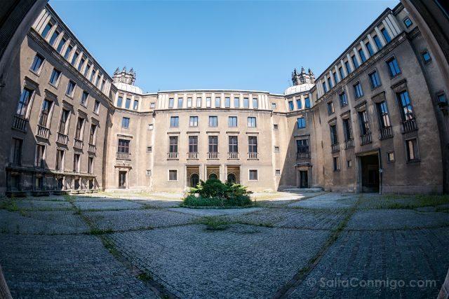 Polonia Cracovia Nowa Huta Aceria Edificio