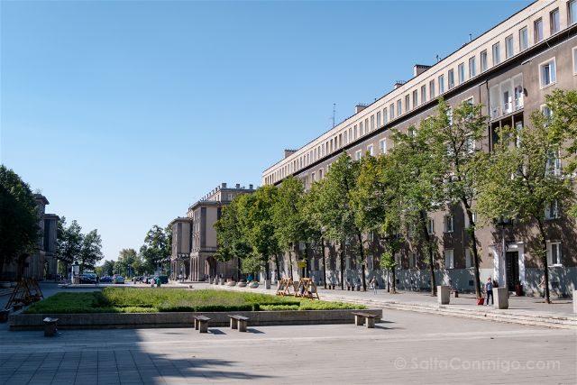 Polonia Cracovia Nowa Huta Avenida Rosas