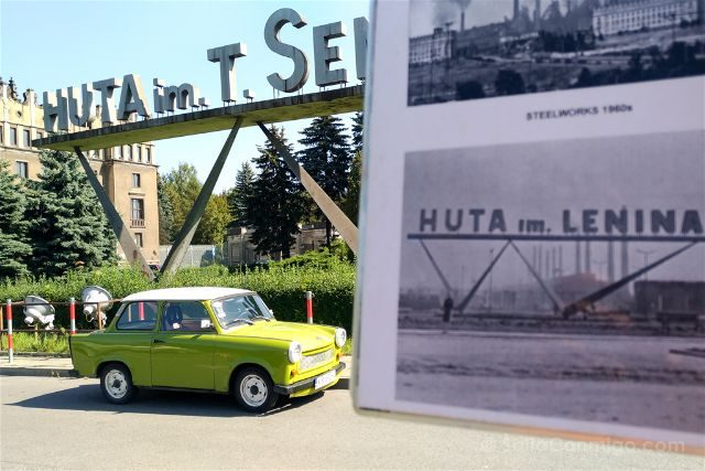 Polonia Cracovia Nowa Huta Cartel Historico