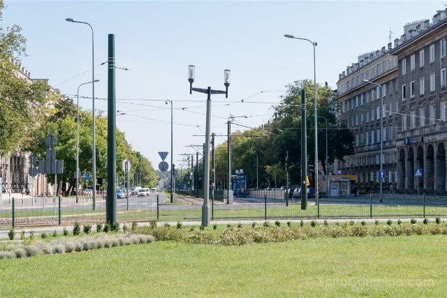 Polonia Cracovia Nowa Huta Plaza Ronald Reagan