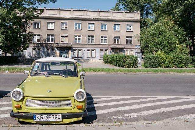 Polonia Cracovia Nowa Huta Trabant Edificio
