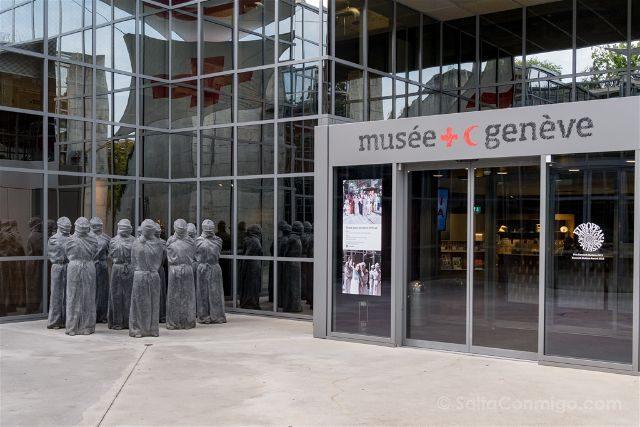 Suiza Ginebra Museo Cruz Roja Media Luna
