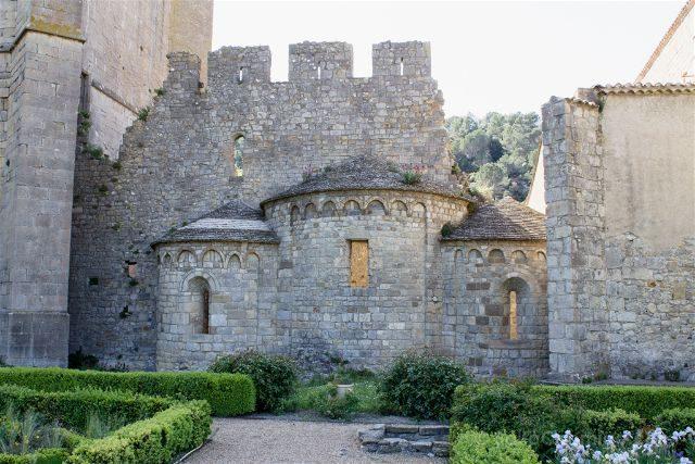 Francia Abadia Lagrasse Absidiolas