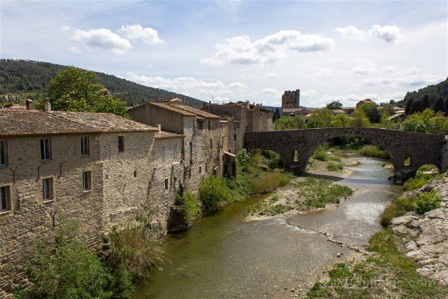 Francia Lagrasse Pont Vieux