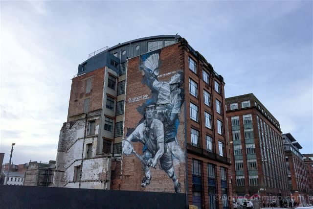 Glasgow City Centre Mural Trail Badminton Guido Van Helten
