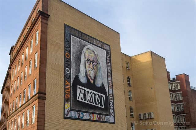 Glasgow City Centre Mural Trail Billy Connolly John Byrne Rogue-One