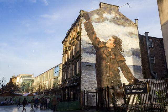Glasgow City Centre Mural Trail Dr Connolly I Presume Jack Vettriano Rogue-One