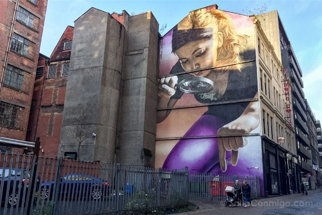 Glasgow City Centre Mural Trail Honey I Shrunk Kids Sorry Smug