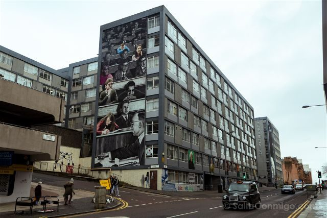 Glasgow City Centre Mural Trail Strathclyde University Ejek Rogue One