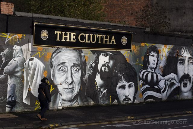 Glasgow City Centre Mural Trail The Clutha Ejek Rogue-One