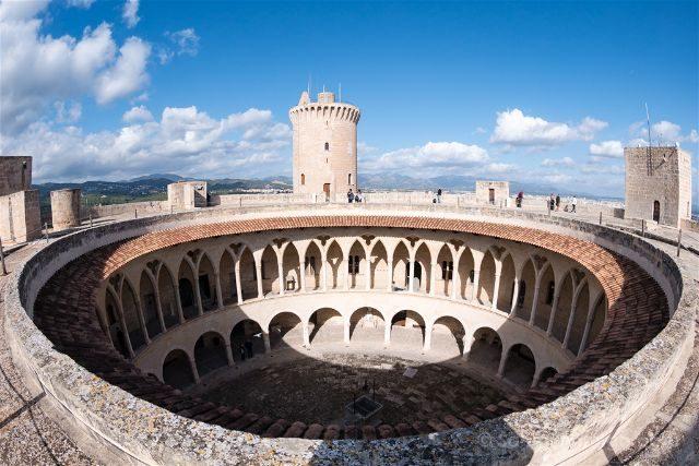 Islas Baleares Mallorca Palma Castillo Bellver