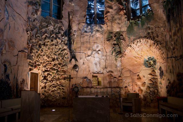 Islas Baleares Mallorca Palma Catedral Interior Capilla Miquel Barcelo