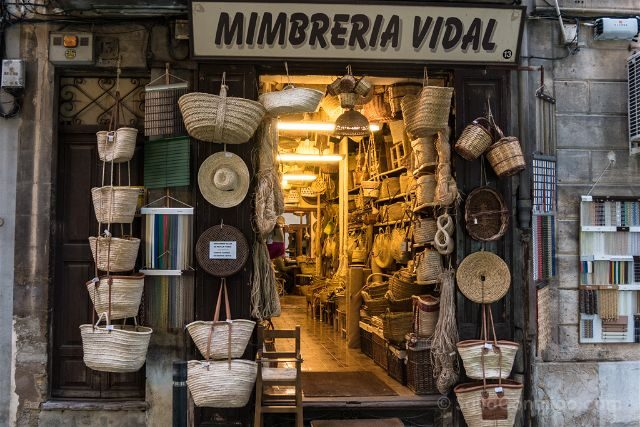 Islas Baleares Mallorca Palma Mimbreria Vidal