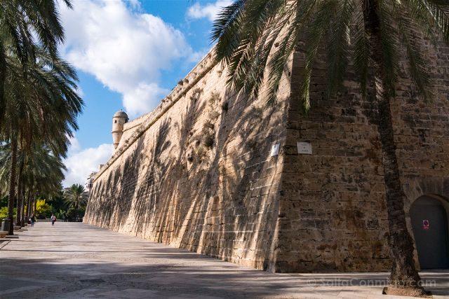 Islas Baleares Mallorca Palma Murallas