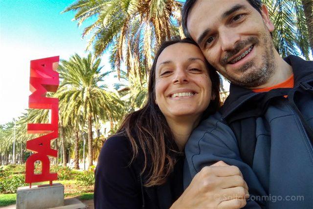 Islas Baleares Mallorca Palma Selfie