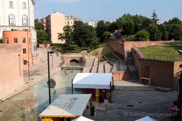 Italia Emilia-Romagna Bologna MDA District Canal