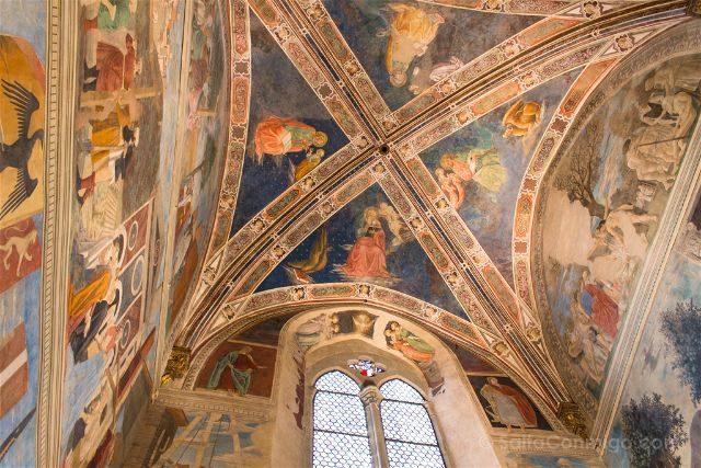 Italia Toscana Arezzo Basilica San Francisco Frescos