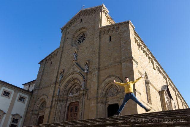 Italia Toscana Arezzo Catedral Salto