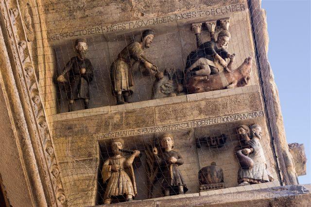 Italia Toscana Arezzo Santa Maria Pieve Portada