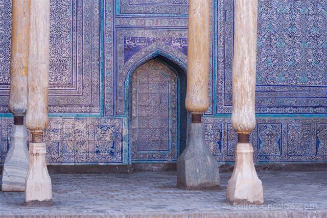 Uzbekistan Jiva Itchan Kala Fuerte Kukhna