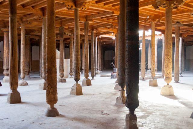 Uzbekistan Jiva Itchan Kala Mezquita Juma