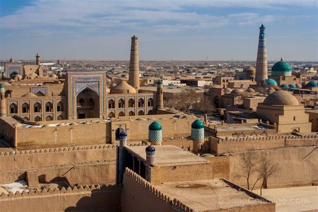 Uzbekistan Jiva Itchan Kala Vista