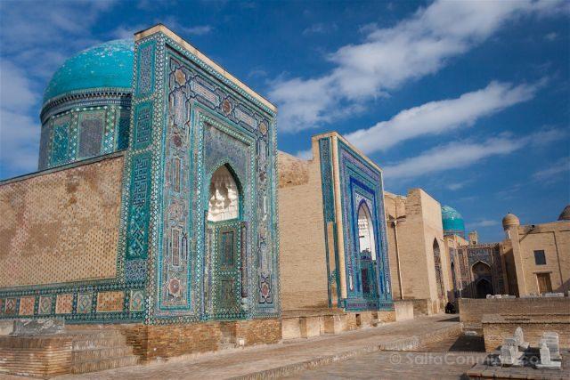 Uzbekistan Samarcanda Zhah-i-Zinda