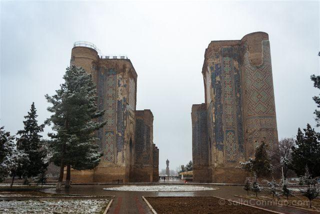 Uzbekistan Shakhrisyabz Palacio Ak-Saray