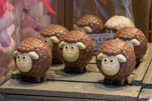 Belgica Brujas Chocolaterie Sukerbyc