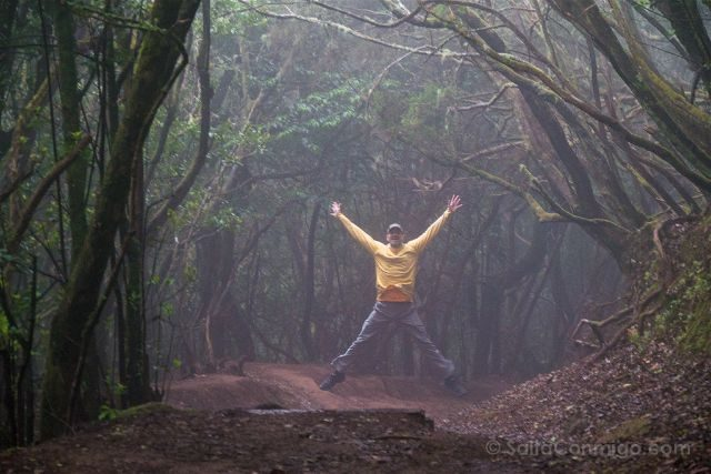 Canarias Tenerife Parque Rural Anaga Sendero Sentidos Salto