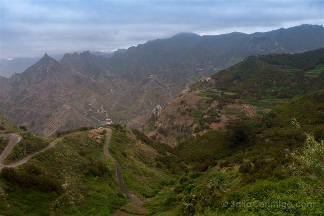 Canarias Tenerife Parque Rural Anaga Taborno Crestas