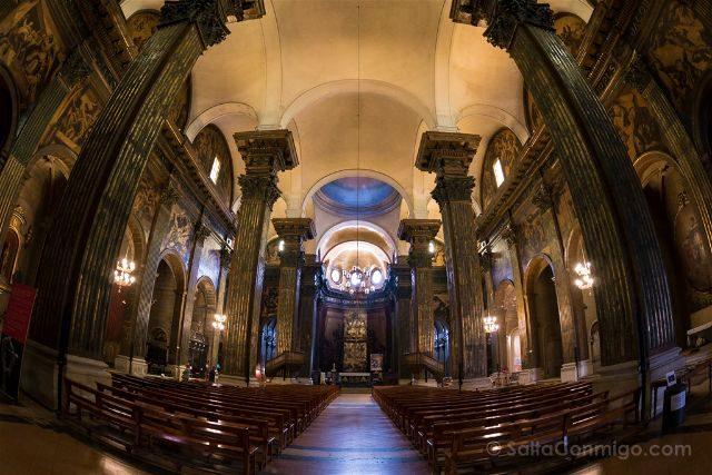 Catalunya Barcelona Vic Catedral San Pedro Interior
