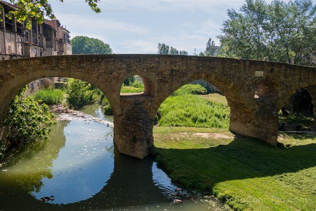 Catalunya Barcelona Vic Puente Queralt Curtidurias