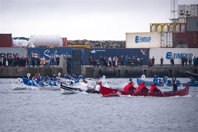 Islas Feroe Torshavn San Olaf Competicion Remo