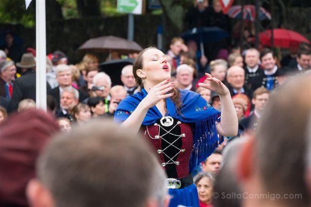 Islas Feroe Torshavn San Olaf Directora Coro