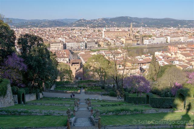 Italia Florencia Giardino Bardini Vista Panoramica Distinta